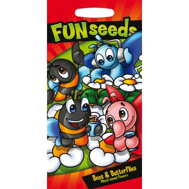 Fun Seeds Mixed Annual Flowers