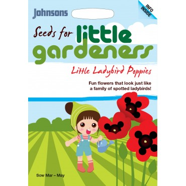 Little Gardeners Little Ladybird Poppies