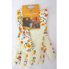 Ladies Floral Gloves (One Size)